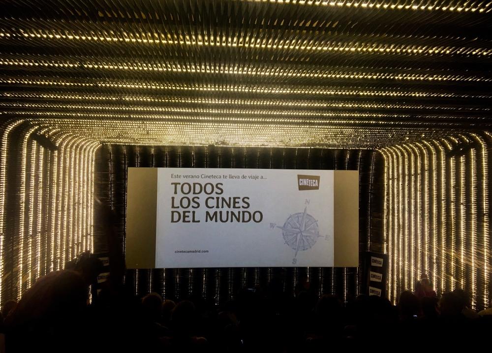 Sala Azcona na Cineteca do Matadero